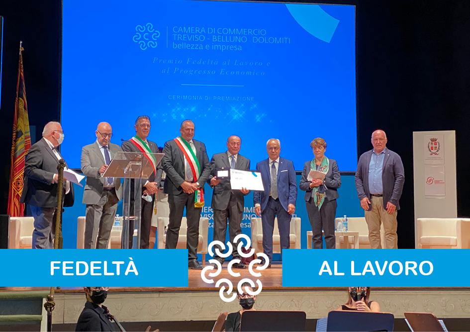 Premiazione Fedelt� al Lavoro e al Progresso Economico