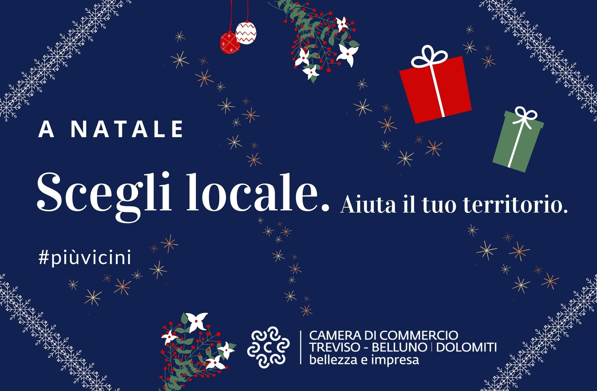 A Natale scegli locale. Aiuta il tuo territorio