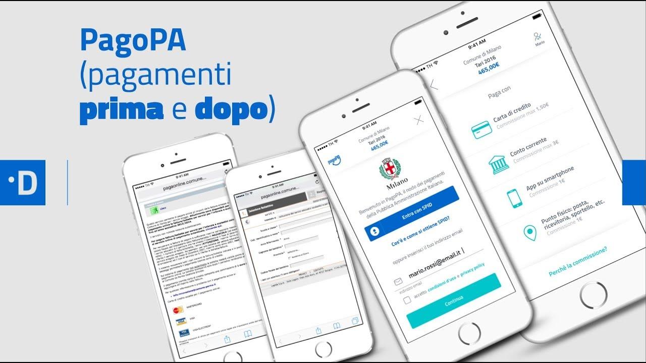 Pubblica Amministrazione digitale: sistema pagoPA