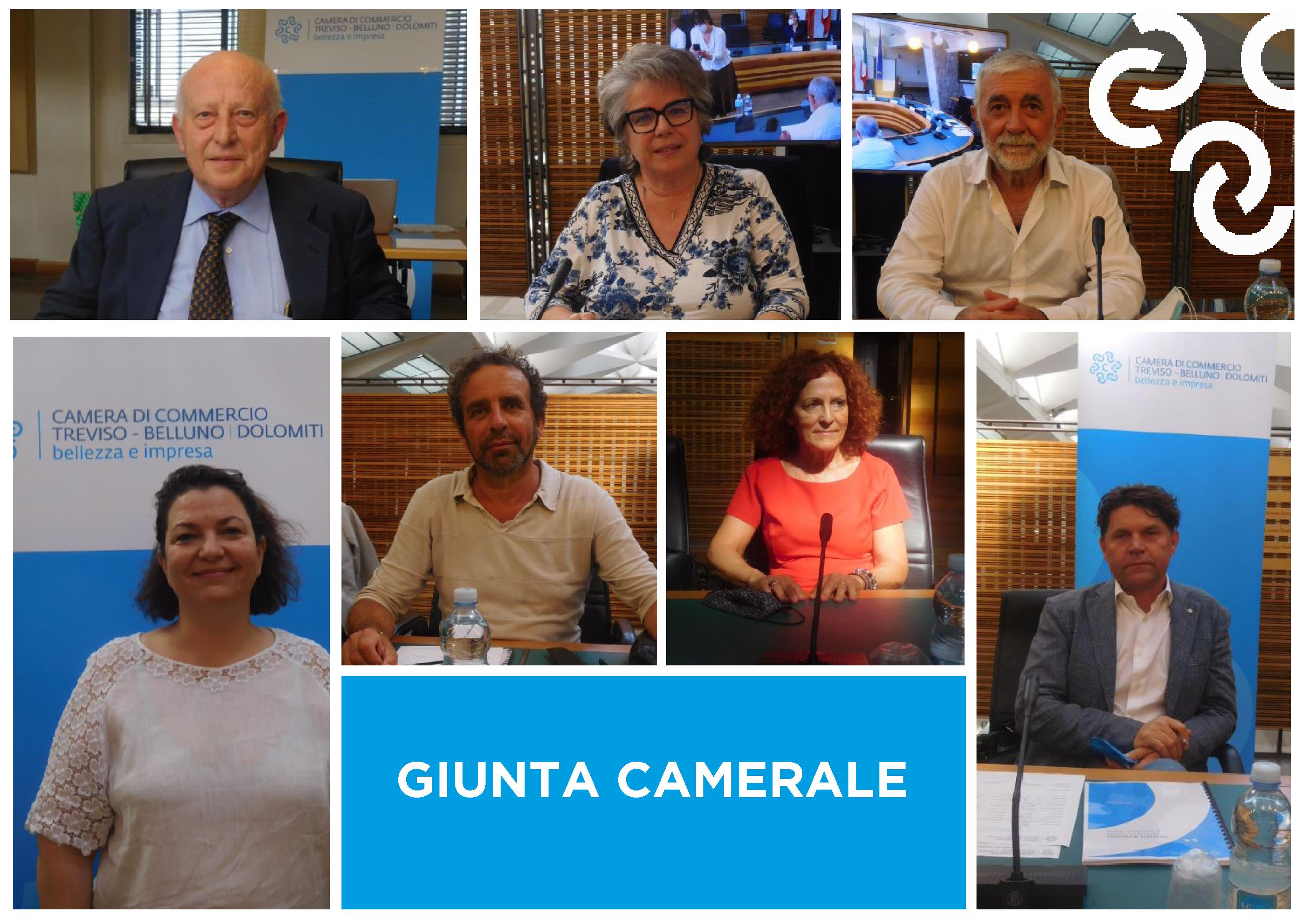 7 luglio 2021 | Ecco i nomi dei componenti della Giunta (per acclamazione) della Camera di Commercio di Treviso - Belluno