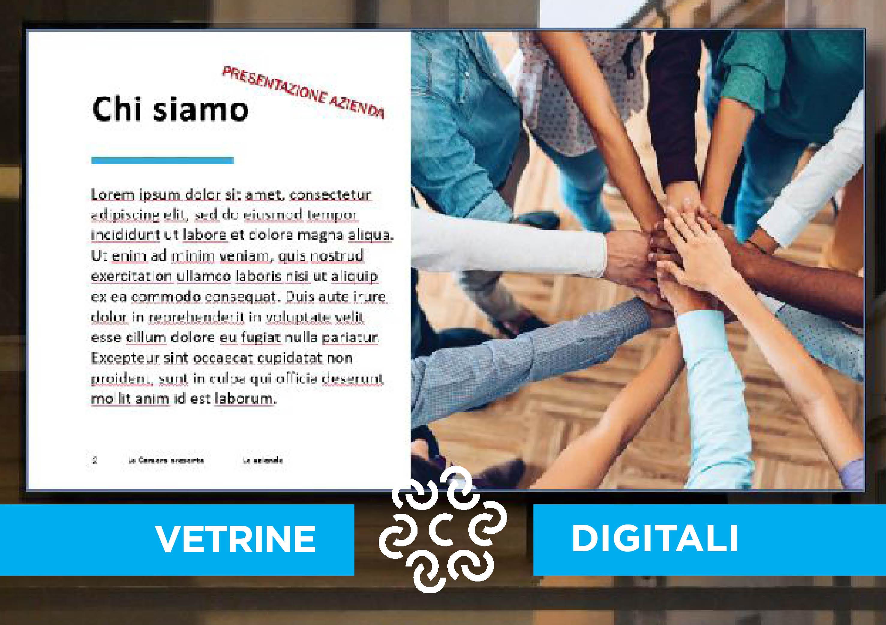 Le Vetrine Digitali: progetto per la promozione delle aziende del territorio