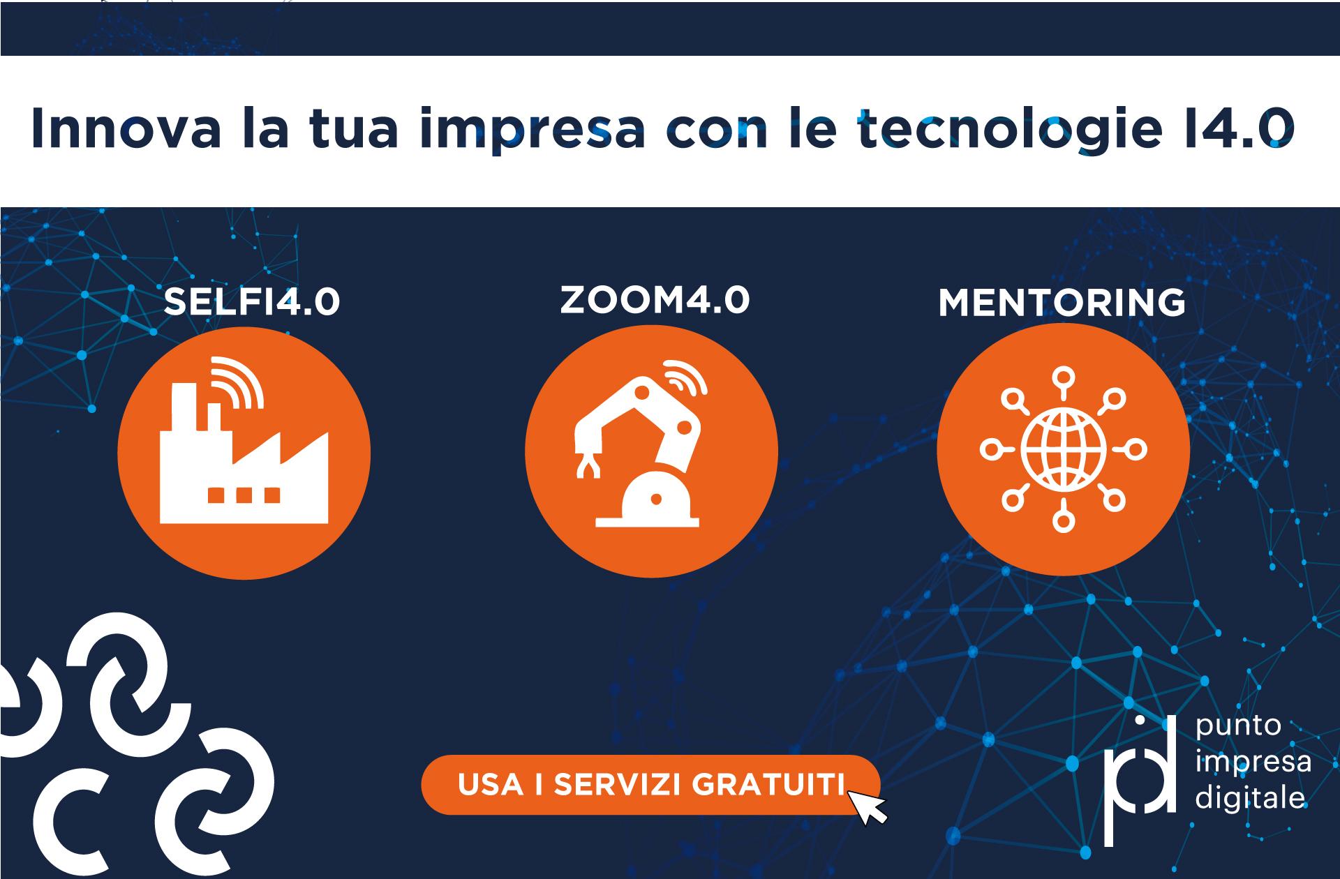 Lo sai che la Camera di commercio offre dei servizi gratuiti per innovare digitalmente la tua impresa?